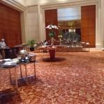 Buffet area in the Grand Hyatt