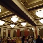 Dining area in the Grand Hyatt