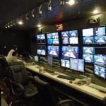 CCTV control room.