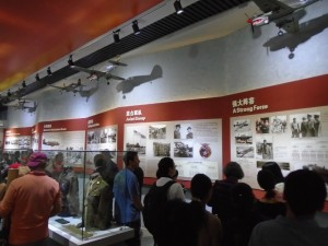 Flying Tigers & Hump Pilots Display at the Kunming Museum