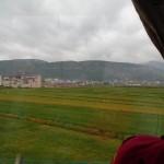 Farms on the edge of Baoshan